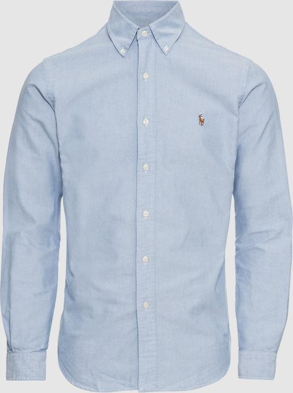 b7d7bfd189e48e POLO RALPH LAUREN Hemd Hemd Hemd  SL BD PPC SP-LONG SLEEVE-SPORT SHIRT  in  blau Mode neue Kleidung 2aab1a