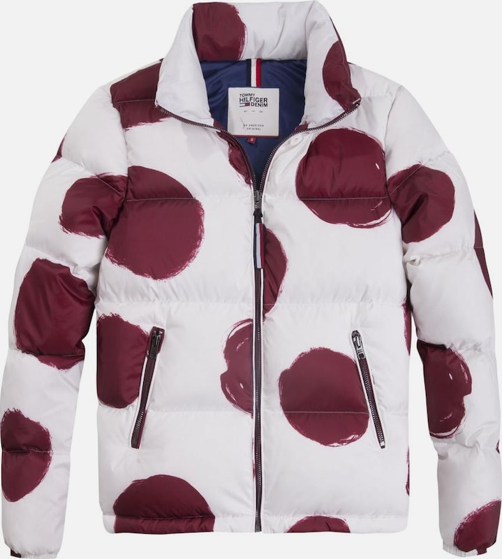 Tommy Jeans Jacke THDW PRINTED DOWN
