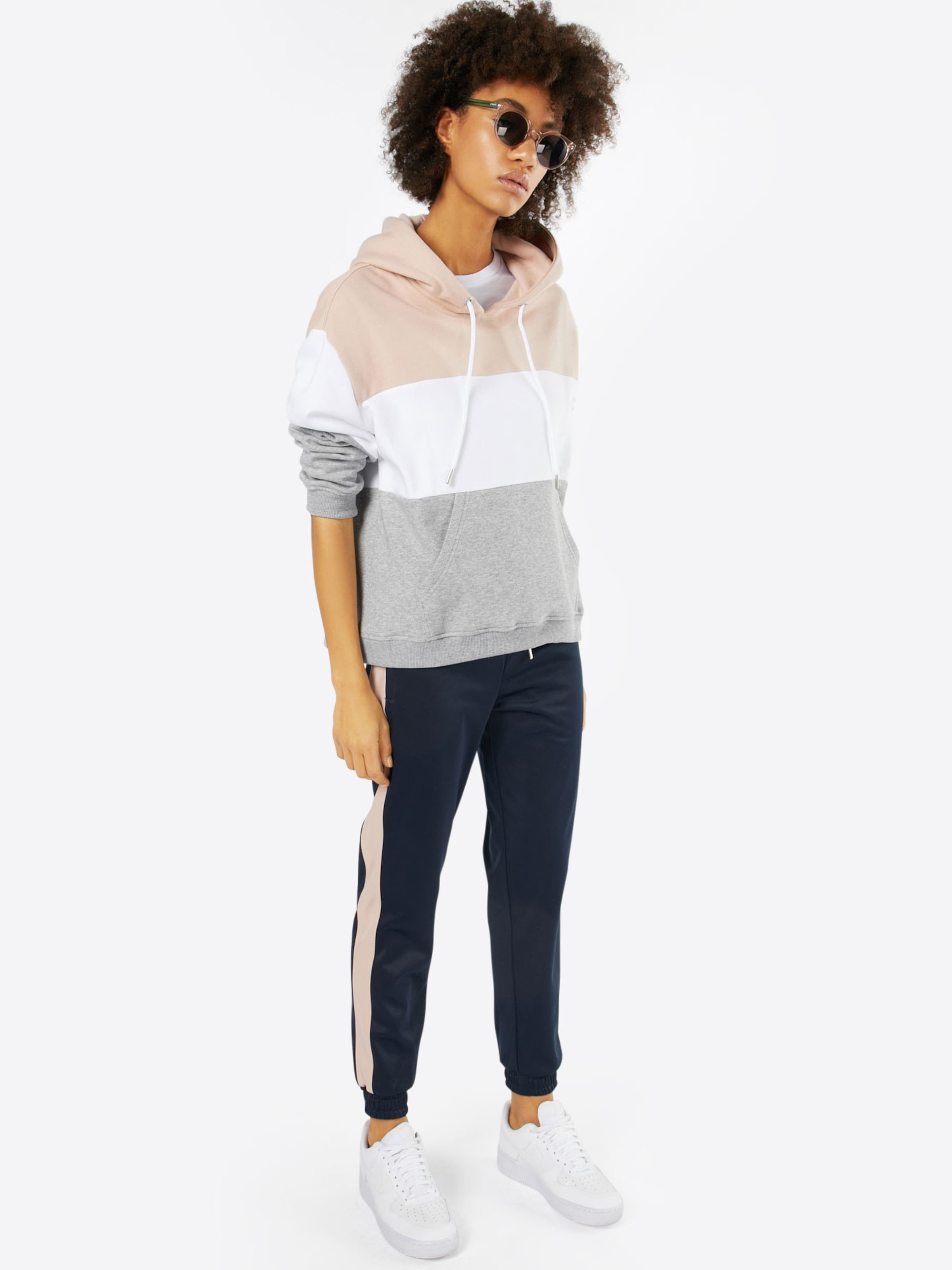 Wirklich Billige Schuhe Online Urban Classics Sweatshirt '3-Tone Hoody' Auslass Sneakernews Y3hW6c