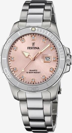 FESTINA Analoguhr 'F20503/2' in rosa / silber, Produktansicht