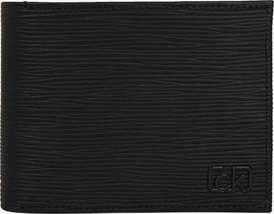 Calvin Klein Portemonnaie 'SIGNATURE EP 5CC W/ COIN' in schwarz, Produktansicht