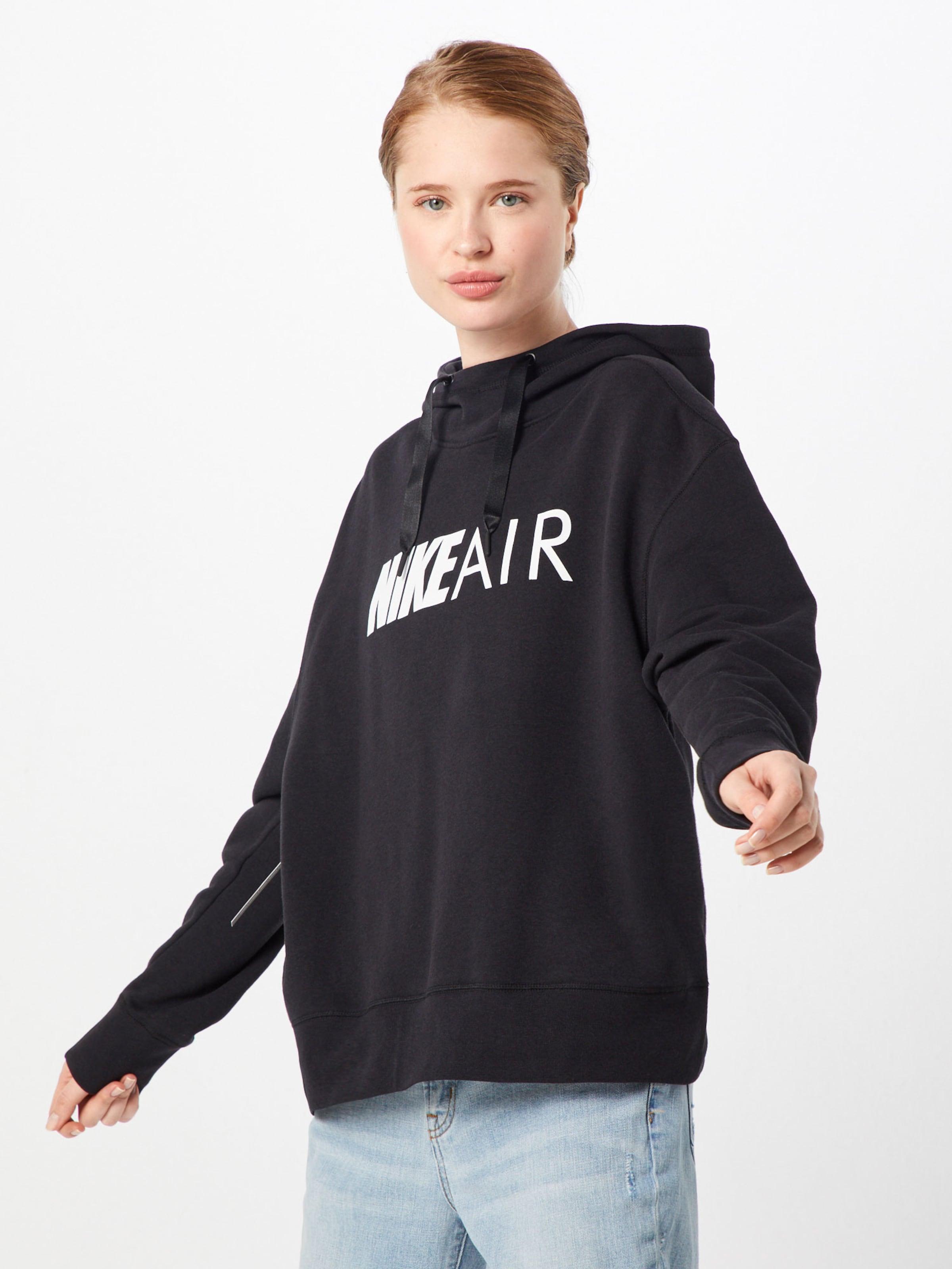 Nike 'air' Sweat NoirBlanc Sportswear En shirt ZukiPOX