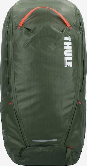 Thule Rucksack in dunkelgrün / lachs / weiß, Produktansicht