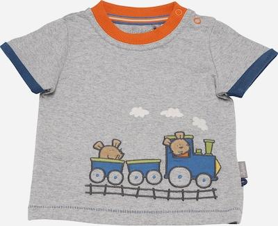 SIGIKID T-Shirt in hellbeige / himmelblau / graumeliert / apfel / dunkelorange, Produktansicht