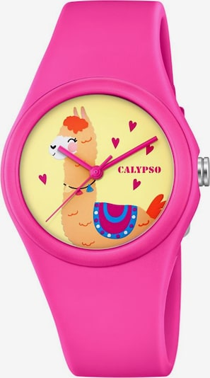 CALYPSO WATCHES Uhr 'Sweet Time' in mischfarben / pink: Frontalansicht