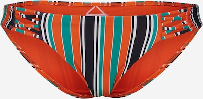 BILLABONG Bikinihose in grün / orange / schwarz, Produktansicht
