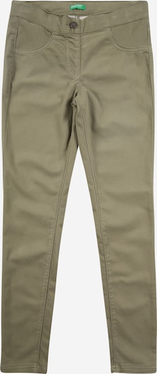 UNITED COLORS OF BENETTON Hose in khaki, Produktansicht