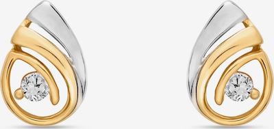 FAVS. Ohrstecker in gold / silber / transparent, Produktansicht