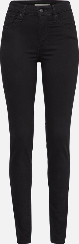 '721™ High Jean En Noir Rise Skinny' Levi's Denim 5jAR34L