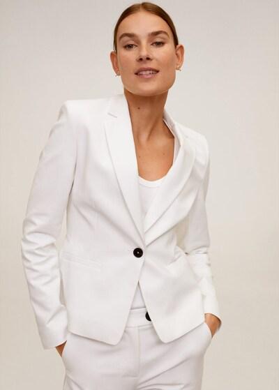 MANGO Blazer cofi6-n in weiß, Modelansicht