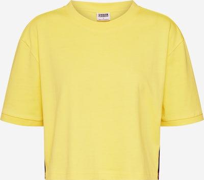 Urban Classics T-shirt en jaune / mélange de couleurs, Vue avec produit