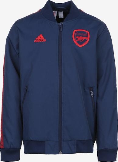 ADIDAS PERFORMANCE Sportjas 'FC Arsenal Anthem' in de kleur Donkerblauw / Lichtrood, Productweergave