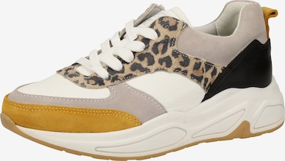 BULLBOXER Sneaker in braun / senf / taupe / weiß, Produktansicht