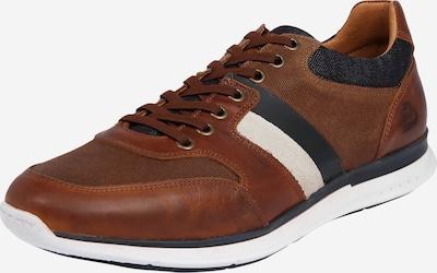 BULLBOXER Sneakers laag in de kleur Cognac, Productweergave