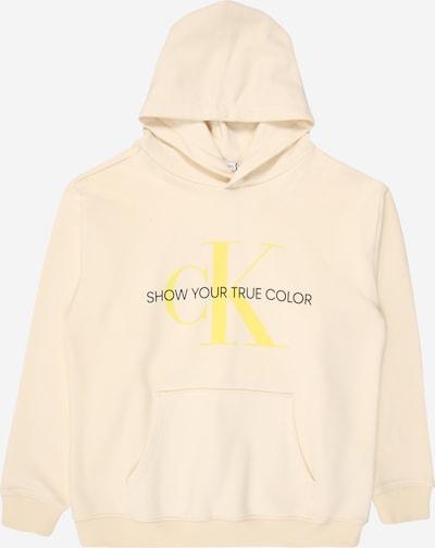 Calvin Klein Hoodie 'MONOGRAM' in hellgelb, Produktansicht