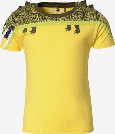 LEMON BERET Shirt in gelb / grün / kiwi, Produktansicht