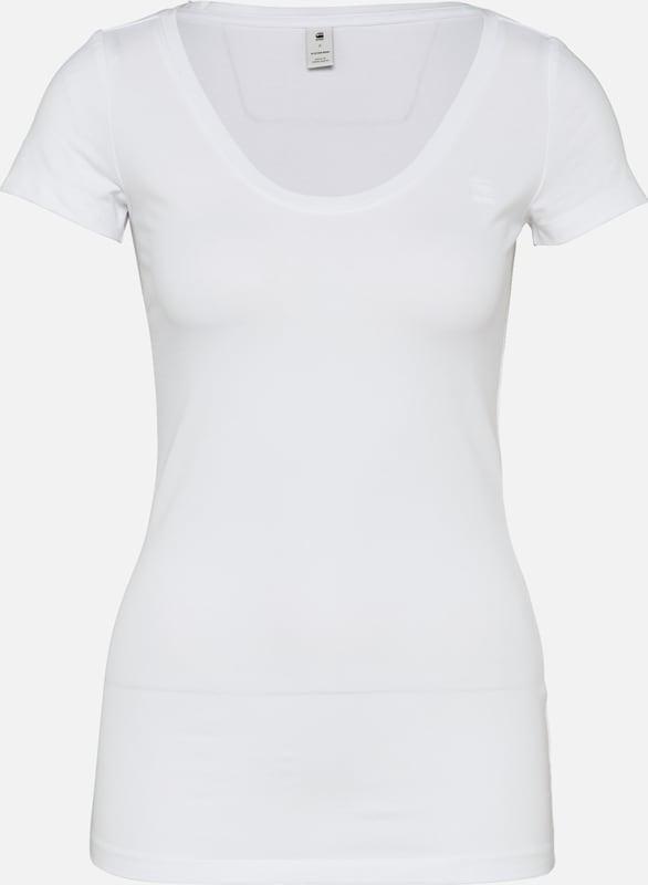 Cap' star shirt T G Raw En 'base Blanc 08nNmw
