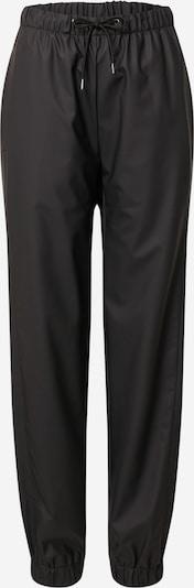 Pantaloni RAINS pe negru, Vizualizare produs