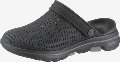 SKECHERS Clog 'Go Walk' in schwarz, Produktansicht