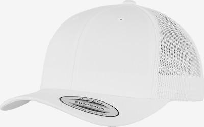 Flexfit Cap 'Retro Trucker' in weiß: Frontalansicht