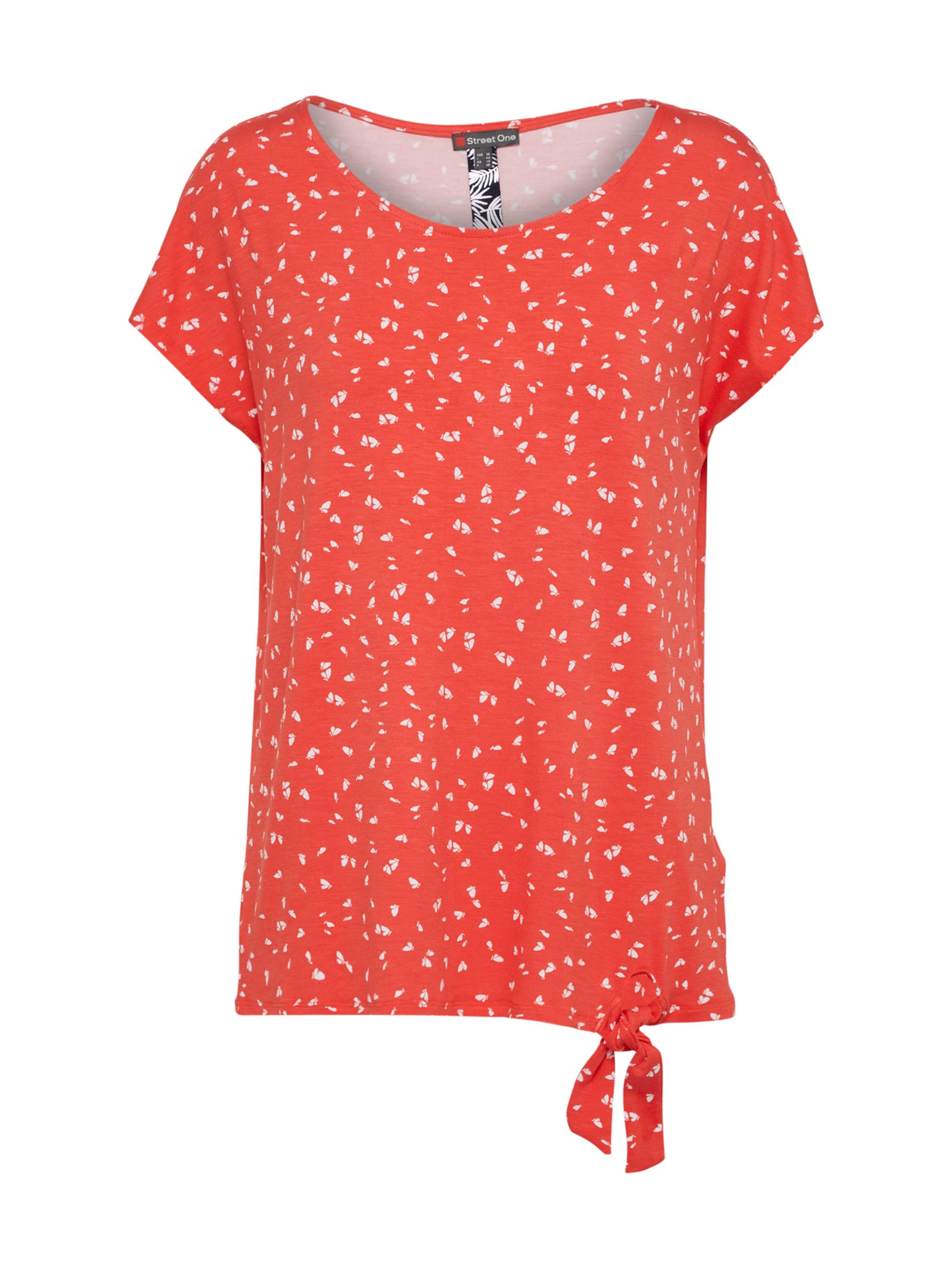 In One OrangerotWeiß T Street Shirt If6gvYbm7y