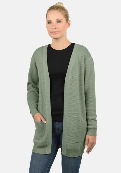 Desires Strickjacke 'Riri' in grün, Modelansicht
