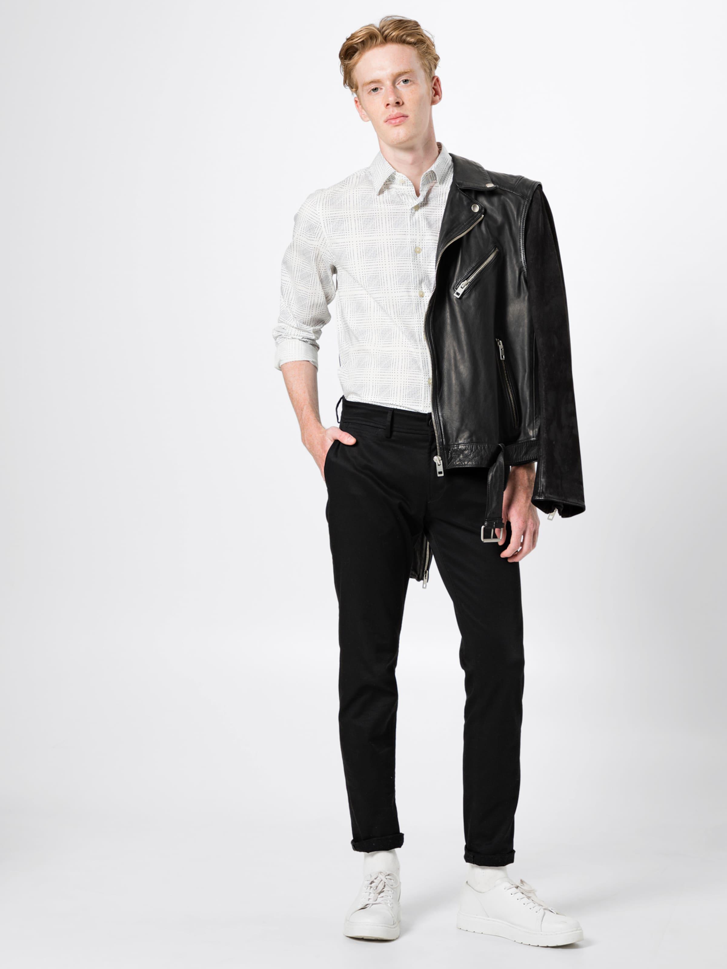 CremeDunkelblau Super In 'core G Shirt s' Slim Hemd L star Raw IE9WDYH2