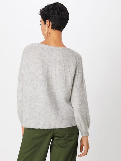 ONLY Pullover in hellgrau: Rückansicht