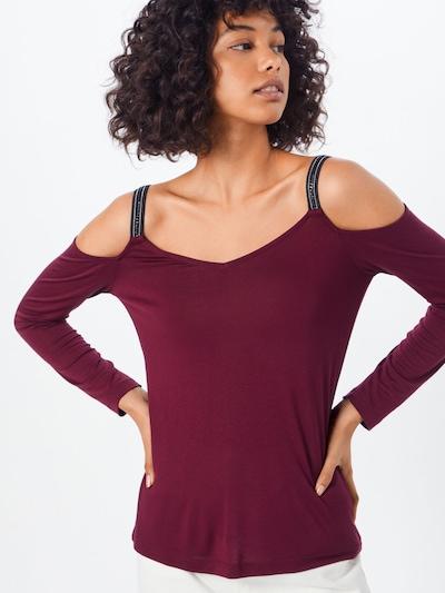 ABOUT YOU Majica 'Ellinor' | bordo barva: Frontalni pogled