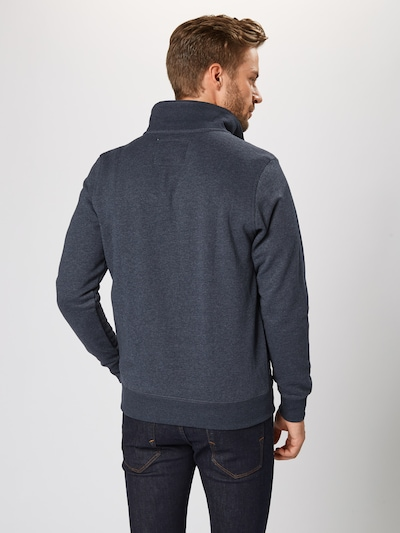 TOM TAILOR Sweatjacke in navy: Rückansicht