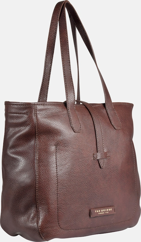 The Bridge Plume Soft Donna Shopper Leder 18 cm