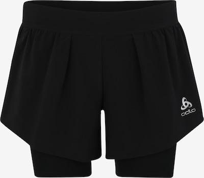 ODLO Sporthose in schwarz / weiß, Produktansicht