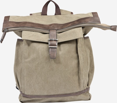 CAMEL ACTIVE Rucksack 'Seoul' in khaki: Frontalansicht