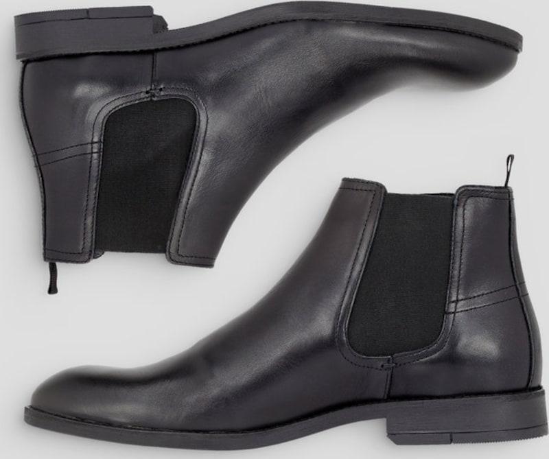 Bianco Stiefel | Klassische Herren Chelsea Stiefel Bianco 5dcf00