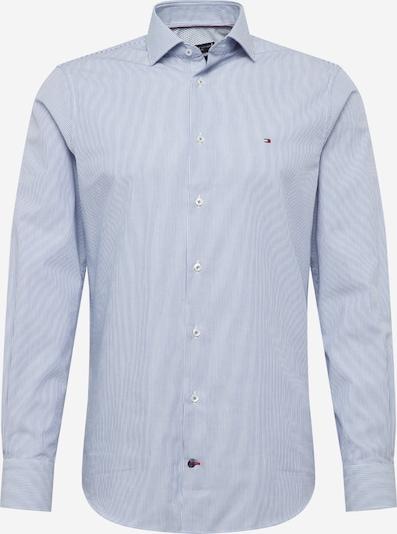 Tommy Hilfiger Tailored Chemise en bleu marine / blanc, Vue avec produit