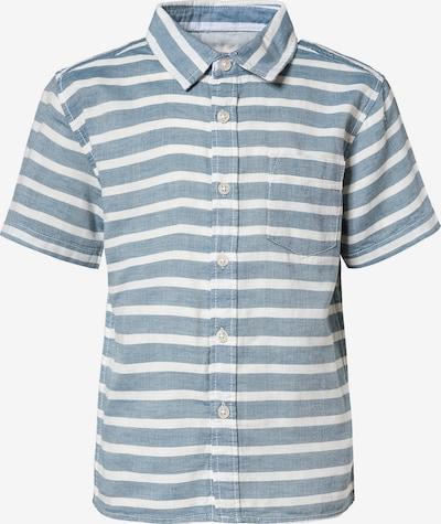 STACCATO Hemd in graumeliert / weiß, Produktansicht