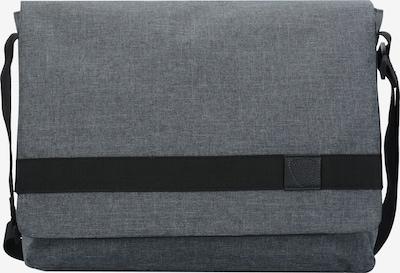 STRELLSON Northwood Messenger Umhängetasche 38 cm in grau / schwarz, Produktansicht