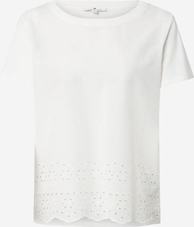 TOM TAILOR T-Shirt in offwhite, Produktansicht