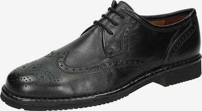 SIOUX Schnürschuh 'Glasgow' in schwarz, Produktansicht