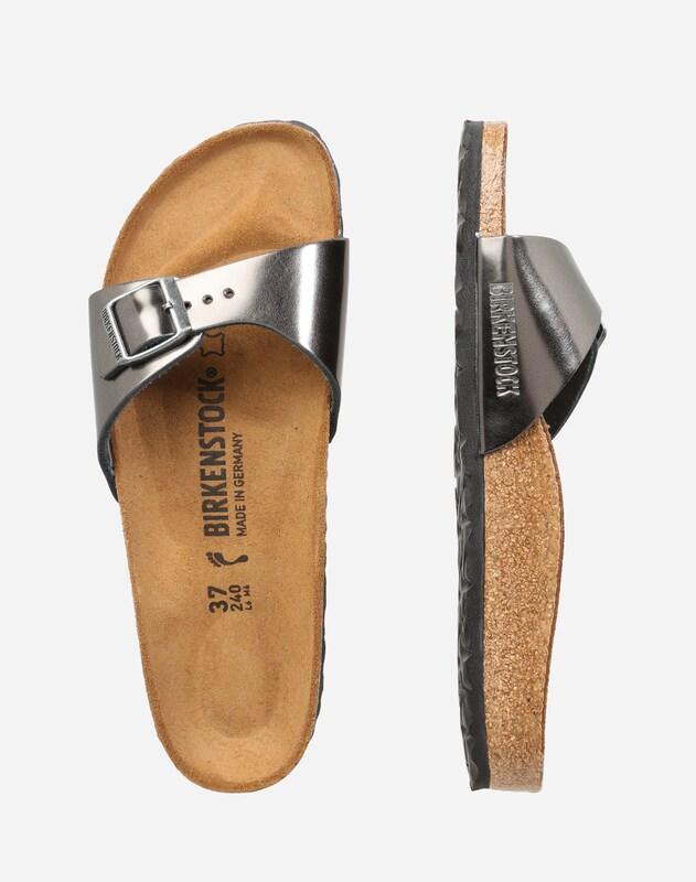 76b0b0879db33b Rabatt Angebote Sammlungen Günstig Online BIRKENSTOCK Sandale  Madrid  Metallic  Footlocker Finish Verkauf Online Auslass ...