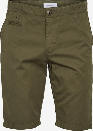 KnowledgeCotton Apparel chino shorts in oliv, Produktansicht