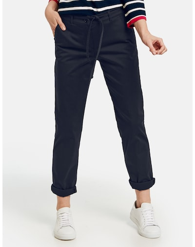 GERRY WEBER Hose in blau, Modelansicht