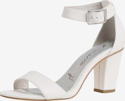 TAMARIS Sandale in weiß, Produktansicht