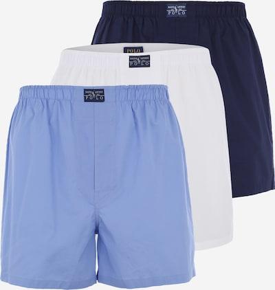 POLO RALPH LAUREN Boxershorts 'OPEN' in blau / navy / weiß, Produktansicht