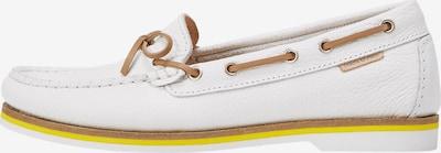 Marc O'Polo Moccasin in braun / gelb / weiß, Produktansicht