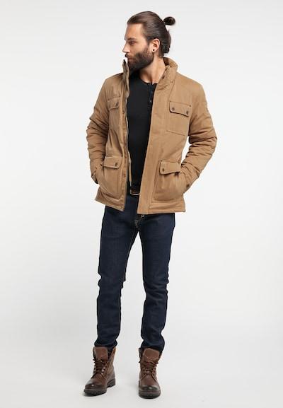 DREIMASTER Winterjas in de kleur Camel, Productweergave