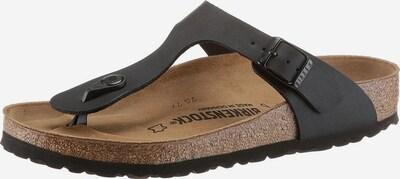 BIRKENSTOCK Sandalias de dedo 'Gizeh' en negro, Vista del producto