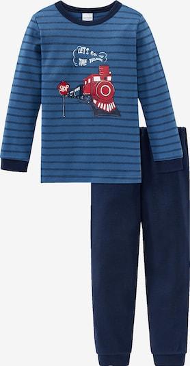 SCHIESSER Schlafanzüge in blau, Produktansicht