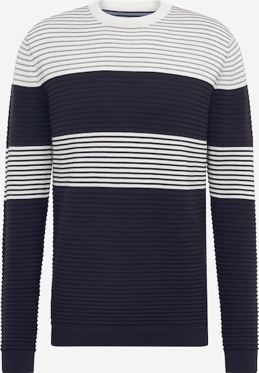 Only & Sons Pullover 'ONSNYKKO 12 STRIPED STRUC KNIT' in navy, Produktansicht