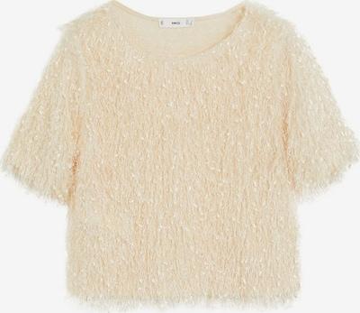 MANGO Shirt 'Furry' in beige / creme, Produktansicht